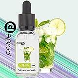 2 x 30ML E-Liquide Premium Paide - Sans nicotine - Liquide pour cigarette électronique - 50VG 50PG (Mojito)