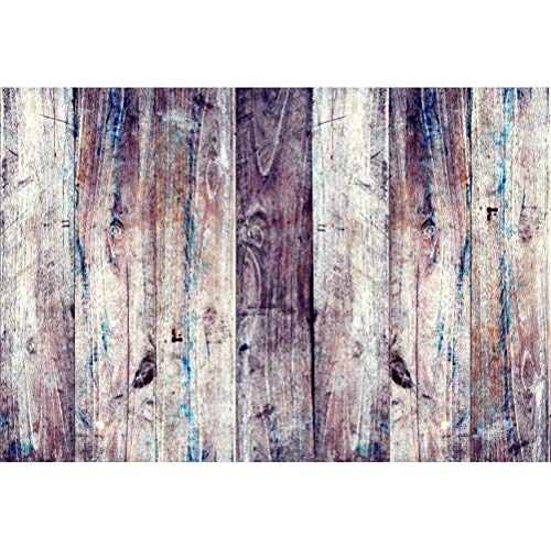 vrupi 7x5ft Grunge Dirty Vertical Striped Wood Texture Plank Vinyl Photography Background Retro Rustic Wooden Board Backdrop Child Adult Pets Portrait Clothes Products Shoot Studio Props (Dirty Board)