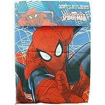 Completo Cama Sábanas individual Marvel Spiderman microfibra Encimera menos almohada