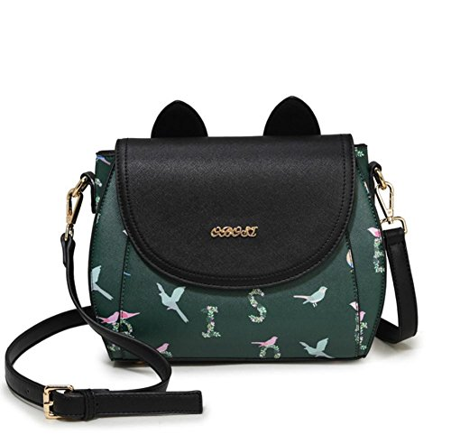 GBT 2016 Reizende Handtaschen-wilde Schulter-Beutel-Handtasche ink green