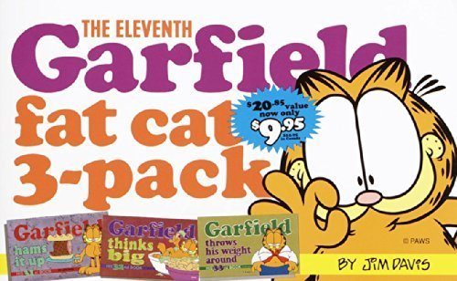 The Eleventh Garfield Fat Cat 3-Pack: Contains: Garfield Strip Numbers 31, 32, and 33 (No.11) by Davis, Jim (1999) Paperback