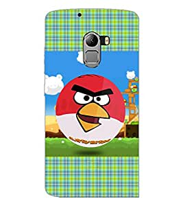 PrintDhaba Angry Birds D-4352 Back Case Cover for LENOVO VIBE X3 LITE (Multi-Coloured)