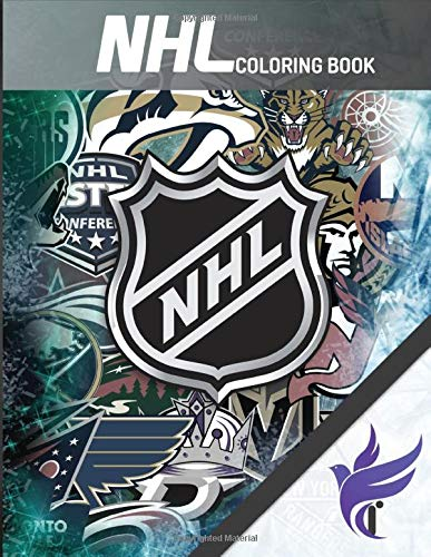 NHL Coloring Book: The Definitive National Hockey League Logo Collection