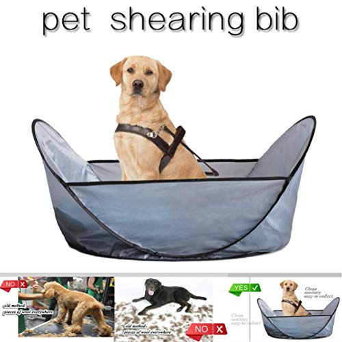 Bobopai Pet Shearing Bib Tools for Prevent Pet Hair from Falling to The Ground Household -