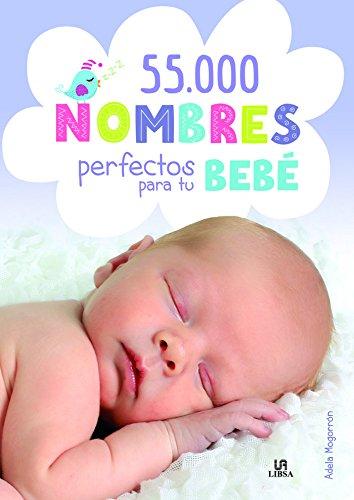 Portada del libro 55.000 Nombres perfectos para tu bebé (Baby)