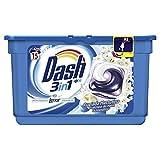 Dash Vollwaschmittel für Waschmaschine Pods 3in 1der Morgentau–3Packungen von 15Dosen [45Wäschen]