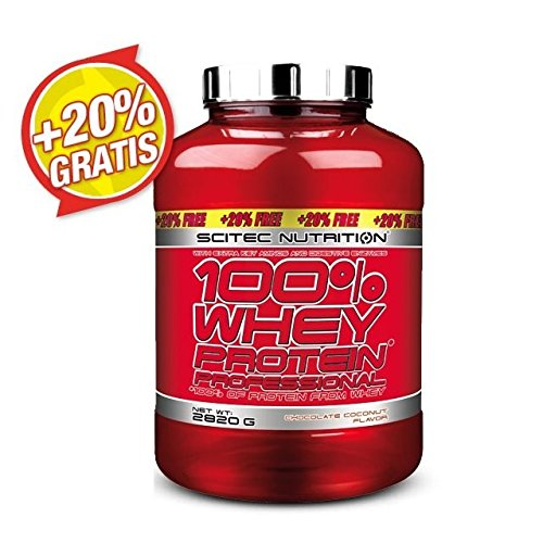 SCITEC 100{bfb3945dee45b31ba98a9525a58af0cbe5c2093f3adb4a97337b041c2d069071} Whey Protein Professional - 2820 g - Chocolate