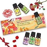 Aceites Esenciales, 100% Puros y Naturales Aromaterapia Aceites Esenciales para Humidificador...
