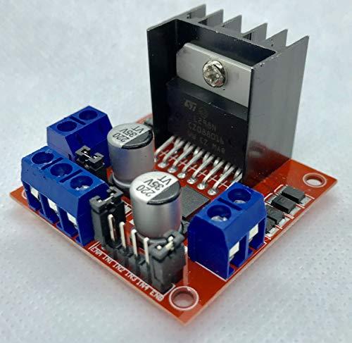 L298N Dual H Bridge DC Stepper Motor Driver Module Controller Board For Arduino MTS1EU