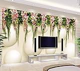 BHXINGMU 3D-Tapeten Benutzerdefinierte Fototapeten Vorhänge Schlafzimmer Wandbilder Tapetenaufkleber 220Cm(H)×300Cm(W)