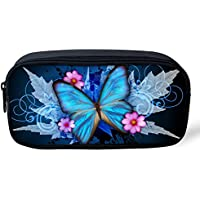 coloranimal Cute Animal Diseño de mariposa niñas lápiz bolsa niños escuela suministros Pluma Caso
