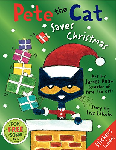Pete the Cat Saves Christmas por Eric Litwin