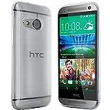moodie Silikonhülle für HTC One Mini 2 Hülle in Transparent-weiß - Case Schutzhülle Tasche für HTC One Mini 2 (Rutschfest)