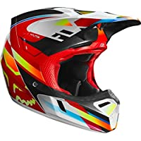 2019 Fox V3 MOTIFross - Casco de Motocross para Adulto (Talla S, 55-