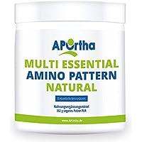 APOrtha Multi Essential Amino Pattern | 8 verschiedene essentielle Aminosäuren | 362g Pulver | vegan preisvergleich bei fajdalomcsillapitas.eu