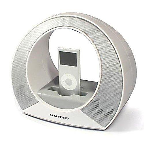 United IPS 8290 iPod Docking Station AUX Radio Design