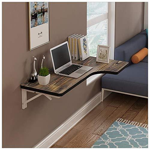 Beistelltisch Einfache Wand Tisch Holz Wand Mit Handballenauflage Geeignet for Home Hotel Wand Tisch Studie Tisch Wand Ecke Computer Schreibtisch Ecke Schreibtisch Wand 100 * 50 cm