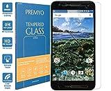 PREMYO verre trempé Nexus 6P. Film protection Nexus 6P avec un degré de dureté de 9H et des angles arrondis 2,5D. Protection écran Nexus 6P