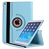 Robustrion Smart 360 Degree Rotating Stand Case Cover for New iPad 9.7 inch
