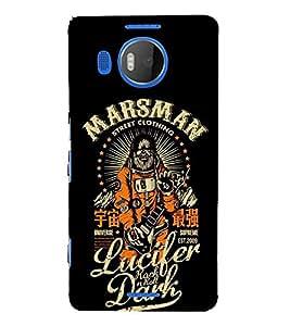 FUSON Marsman Lucifer Dark 3D Hard Polycarbonate Designer Back Case Cover for Microsoft Lumia 535 :: Microsoft Lumia 535 Dual SIM :: Nokia Lumia 535