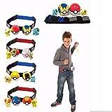 #8: Alcoa Prime Adjustable Pokemon Clip n Carry Kids Gift Poke Ball Belt Pretend Game Xmas Set