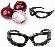Bluelover soğan gözlük bardak dilimleme mutfak kesme bıçak Mincing Eye Protect soğan Glasses