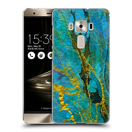 official-haroulita-yellow-teal-marble-hard-back-case-for-asus-zenfone-3-deluxe-zs570kl