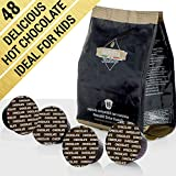 Barista Italiano - Chocolade - 48 Dolce Gusto Compatibel Cups (48 Cups, 48 Porties, Chocolade)