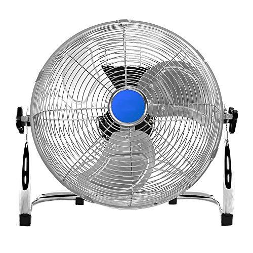 Mini-ventilateur, Ventilateur Électrique, Ventilateurs Industriels D'atelier D'usine De Grande Capacité Et À Débit D'air Élevé GAOFENG (Color : Silver, Size : 18 inches - 50 cm)