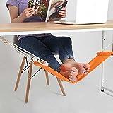 Ducomi® put Your Feet Up–Mini Hamaca de mesa y escritorio para distendere Le patas con Comfort y estilo–Reposapiés ajustable ideal para oficina, casa y jardín (65x 15cm)