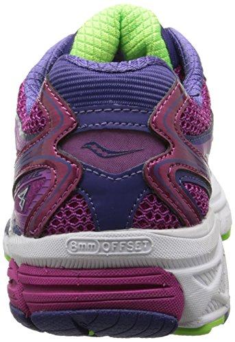 Saucony PowerGrid Guide 8 chaussure de course Berry/Purple/Slime