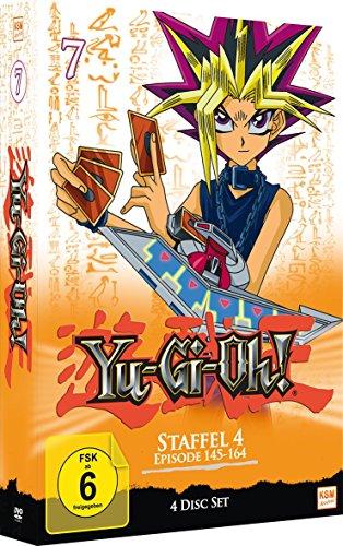 Yu-Gi-Oh! - Staffel 4.1/Episode 145-164 [4 DVDs]