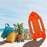 German Trendseller® 1 - Planche Sauvetage Gonflable - Baywatch Rouge?65 cm?Lifeguard ? Carnaval?Fête?Déguisement ?Beach Boy