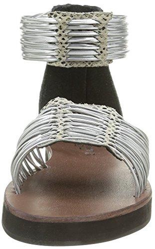 ELIZABETH STUART Damen Pexy 871 Sandalen Silber - Argent (Gris/Argent)