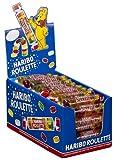 Haribo Roulette - Fruchtgummi - 1 Karton mit 50 Rollen à 25 gr