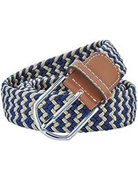 Cinturón De Tela Elástica Trenzada Para Mujer Regalos Hombre Para Cinturón  Elástico Lona Jeans Cinturones Cinturón 77d5b0dd1004