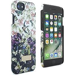 "Ted Baker BIJOUX Apple iPhone 8 / iPhone 7 Soft Feel Case (4.7"" Zoll) Damen Handyhüllen Kollektion, Entangled Enchantment, Weiß"