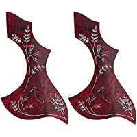 Pezzi colibrì chitarra acustica battipenna adesivo PVC per la sostituzione Gibson/Epiphone