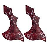 Kmise z4805h22piezas Gibson/Epiphone Hummingbird Guitarra Acústica Golpeador adhesivo de PVC