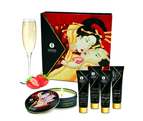 Shunga Sekt Jane, Secret-Set Erdbeere