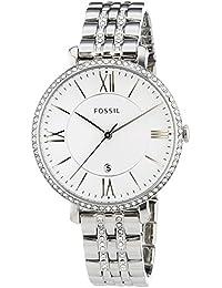 Fossil Damen-Armbanduhr Jacqueline Analog Quarz Edelstahl ES3545