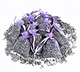 12 Bags of Dried Lavender in Small Lilac Organza Bags -Real Flower Wedding Confetti/Home Fragrance/Crafts /Moth Repellant