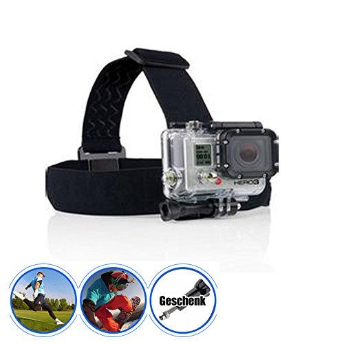 Head Strap Mount Kopfband Kamera Halterung für GoPro Hero 1 2 3 3+ 4 5 / SJCAM SJ4000/ QUMOX SJ4000 SJ5000/ xiaomi Yi/ Aktion Kamera Camcorder