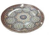 Orientalischer Servierteller Ø 40 cm Mosaik