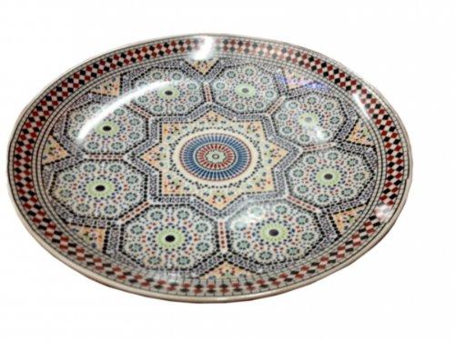Oriental Serving Platter Ø 30 CM Mosaic
