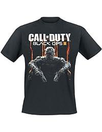 Call Of Duty Black Ops III - Cover Art T-Shirt schwarz