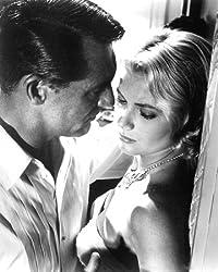 Moviestore Cary Grant als John Robie unt Grace Kelly als Frances Stevens in To Catch a Thief 25x20cm Schwarzweiß-Foto