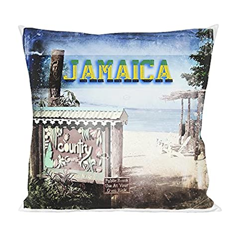 Jamaica Beach Pillow