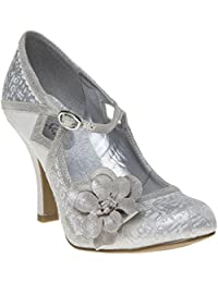 Ruby Shoo Donna Mujer Zapatos Metálico eYmEtycBE