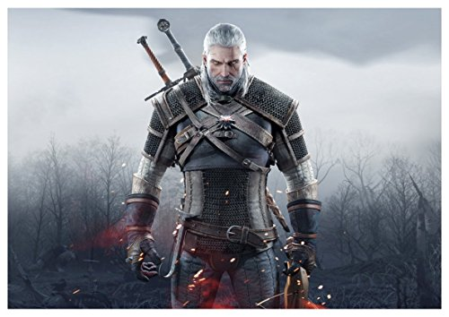 Instabuy Poster The Witcher III (A) - Geralt - A3 (42x30 cm)